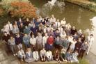 Staff at Aristotle House, Oxford, during the 1980s