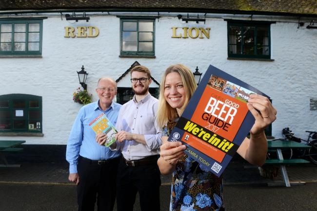 The Red Lion at Northmoor which was taken over by villagers then made it into the Good Beer Guide. Picture: Richard Cave