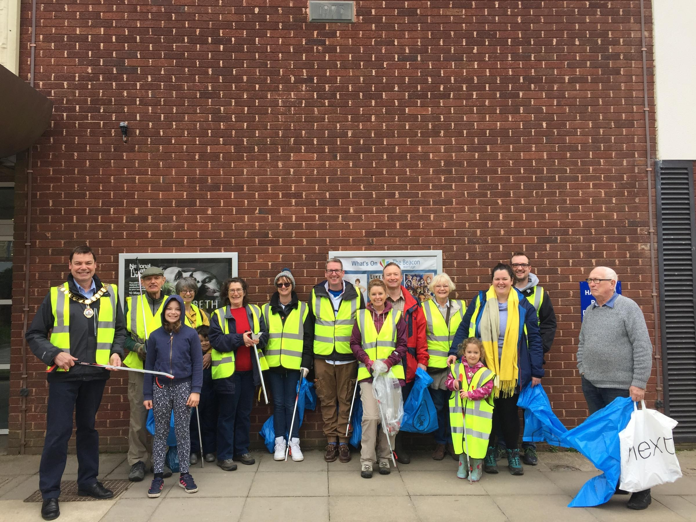 Wantage spring clean up