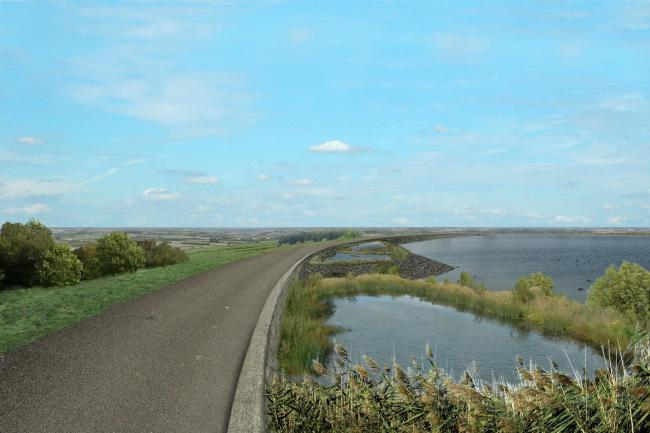 Artist impression of the Thames Water Abingdon reservoir, submitted 2006.