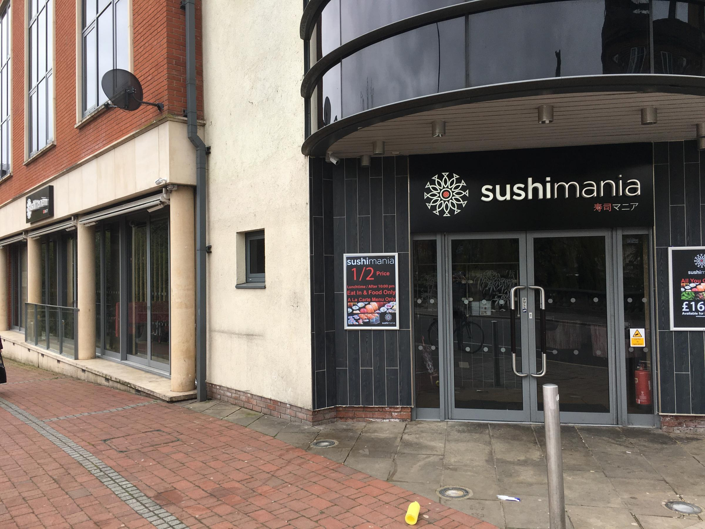 Oxford Sushi Restaurant Staff Roll Up Their Sleeves To
