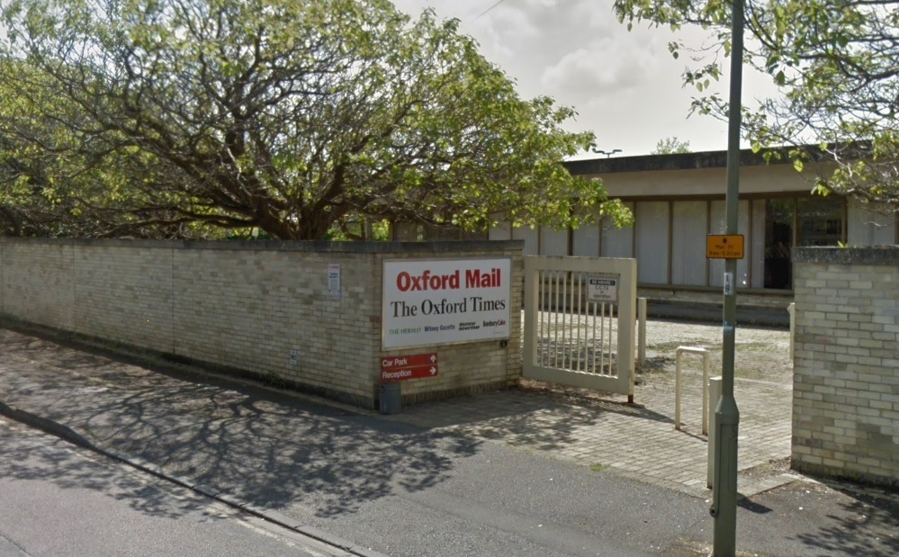 The Oxford Mail offices, Osney Mead