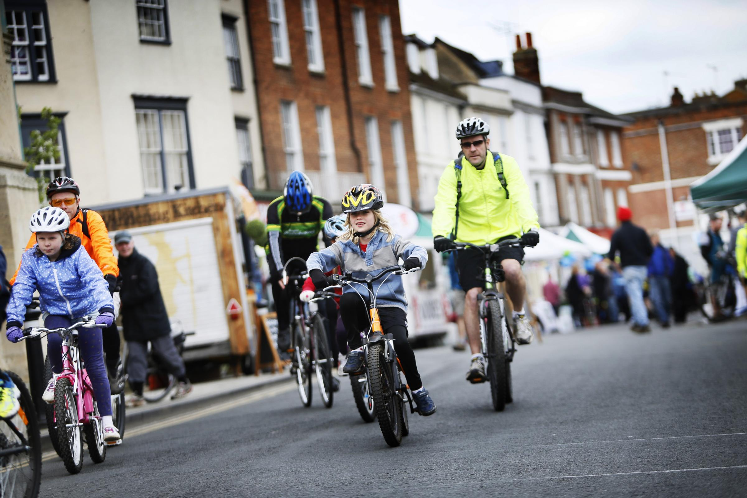 Booked by MO on 17/04/15.A free one-day cycling festival in Abingdon promises to get scores of new riders in the saddle. Visitors to the Spring Cycle Festival on Sunday April 19, can try out a range of bikes, go on bike rides, and visit a bike �do