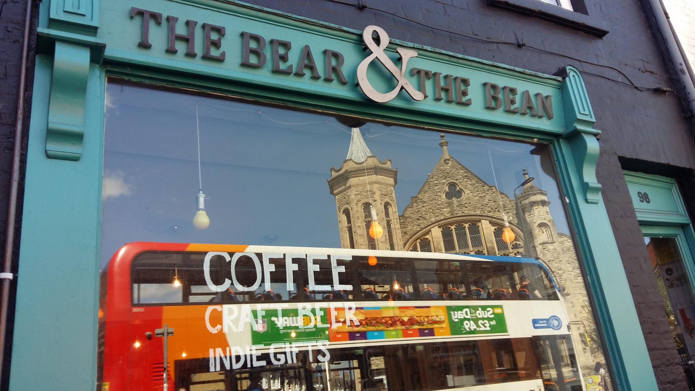 The Bear & The Bean cafe in Cowley Road is to close. Pic Andy Ffrench