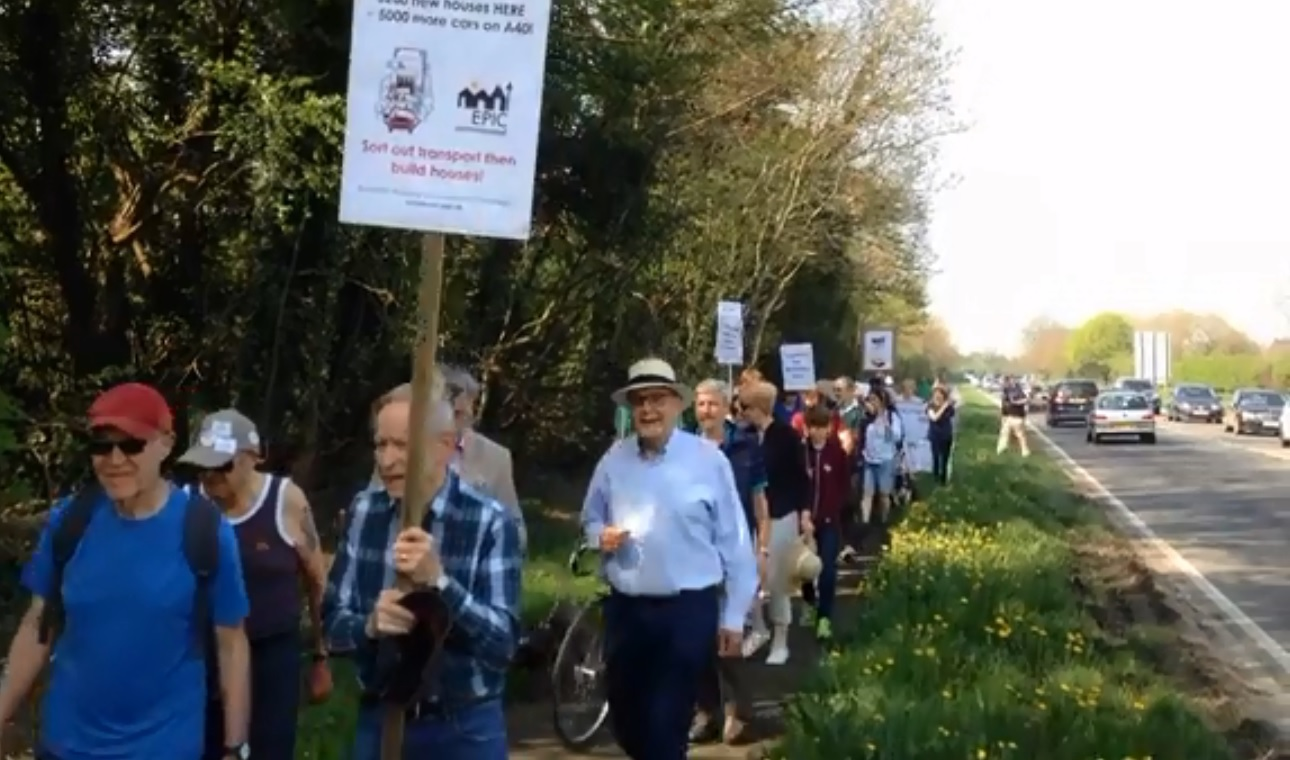 Villagers vow anti-homes protest march 'just the beginning'