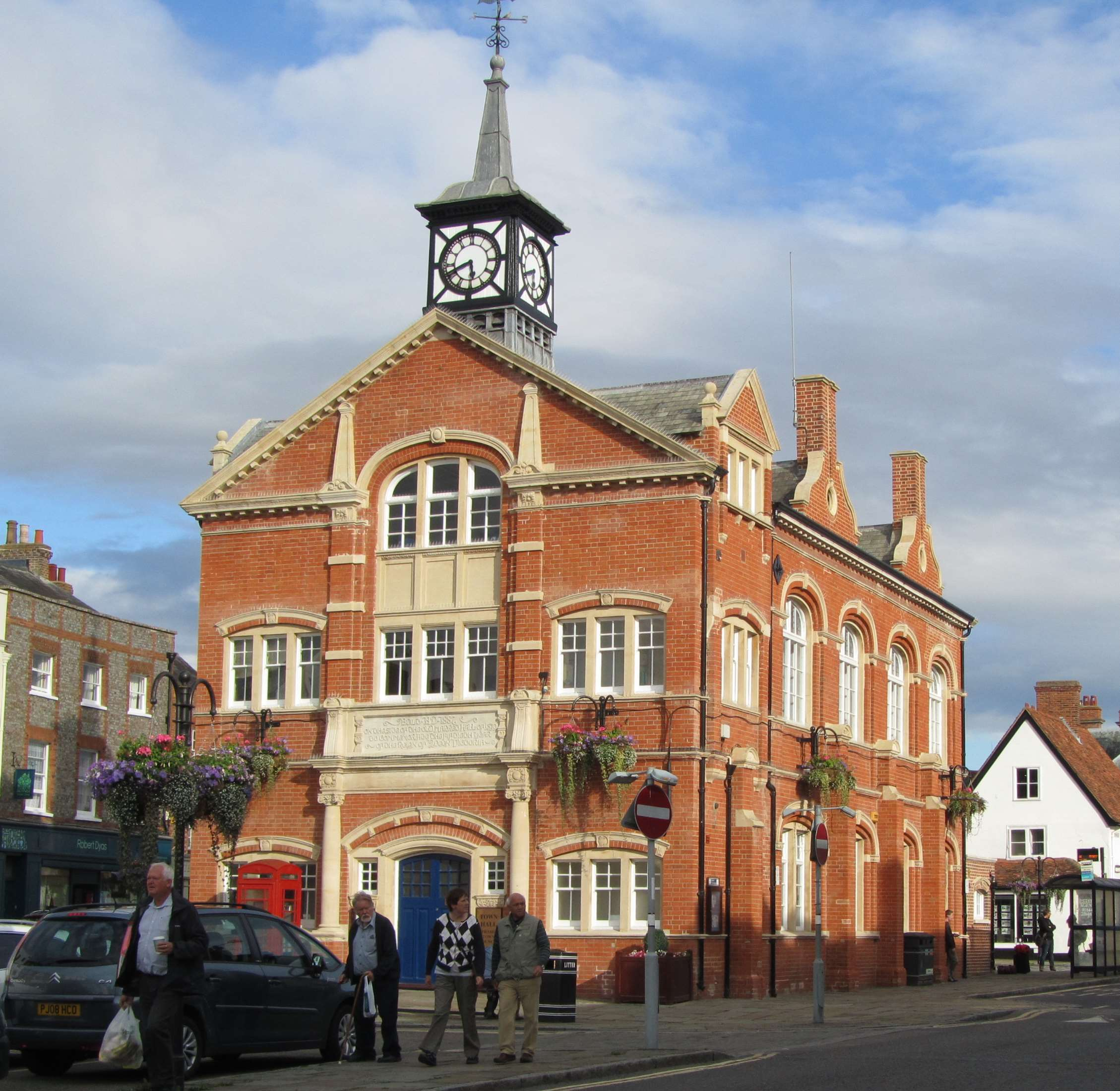 Thame Town Council Hall, High Street