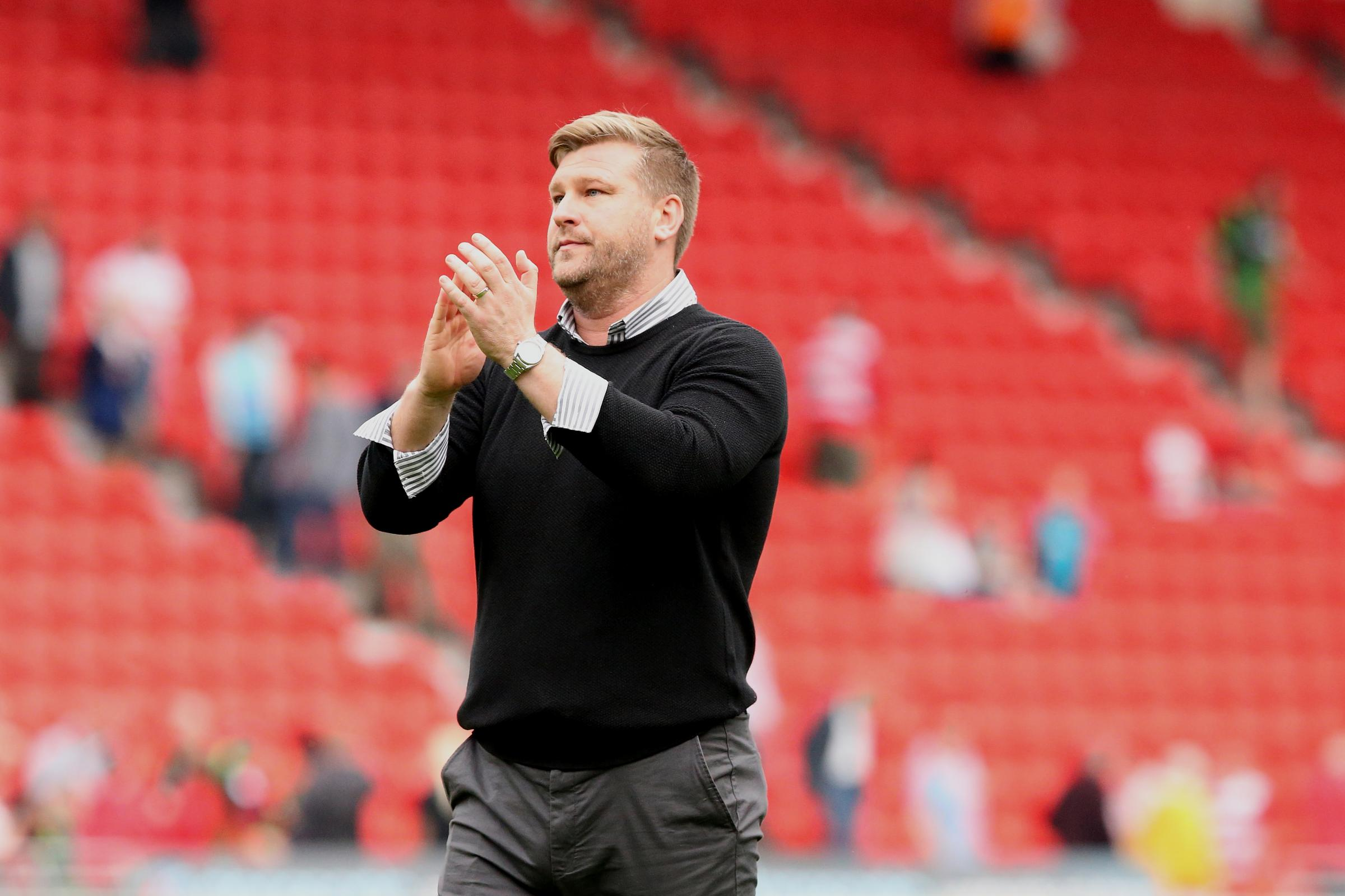 Karl Robinson wants to begin putting his strategy for the summer in place as soon as possible after Oxford United edged to the brink of securing their Sky Bet League One status 	Picture: James Williamson