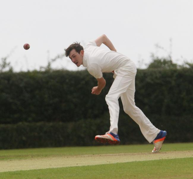 EARLY BLOWS: Lawrence Brock took three quick wickets for Oxfordshire in their second game against Berkshire