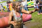 A previous Pretty Muddy 5K for Cancer Research UK