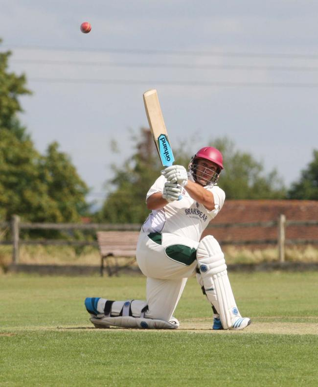 PUSHING THE BOUNDARIES: Craig Haupt has struck 24 centuries in his record-breaking 10,000 Home Counties Premier League runs for Banbury since 2000