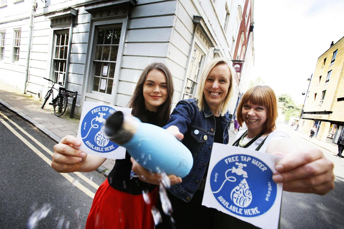 Refill Oxford hopes 100 businesses will offer free tap water