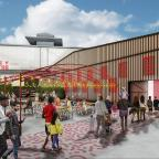 Oxford Mail: Artist's impression of the new Wembley Park Theatre (Troubadour/PA)