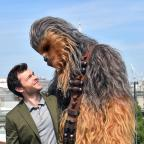 Oxford Mail: Alden Ehrenreich and Chewbacca appear in Solo: A Star Wars Story (Matt Crossick/PA)