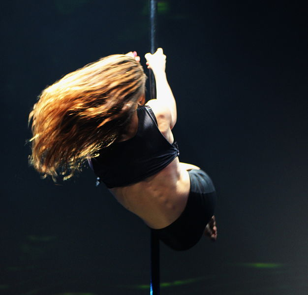 Pole dancing - pic. Usien