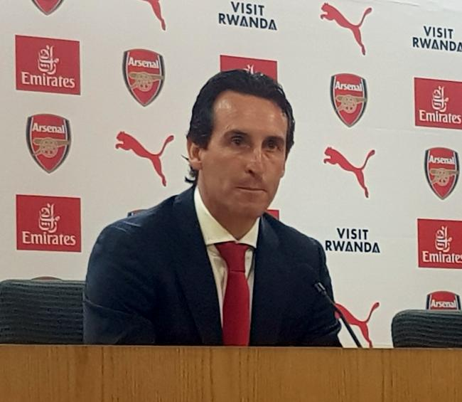 NEW BOSS: Unai Emery is unveiled at Arsenal   Picture: Mark Mann-Bryans/PA Wire