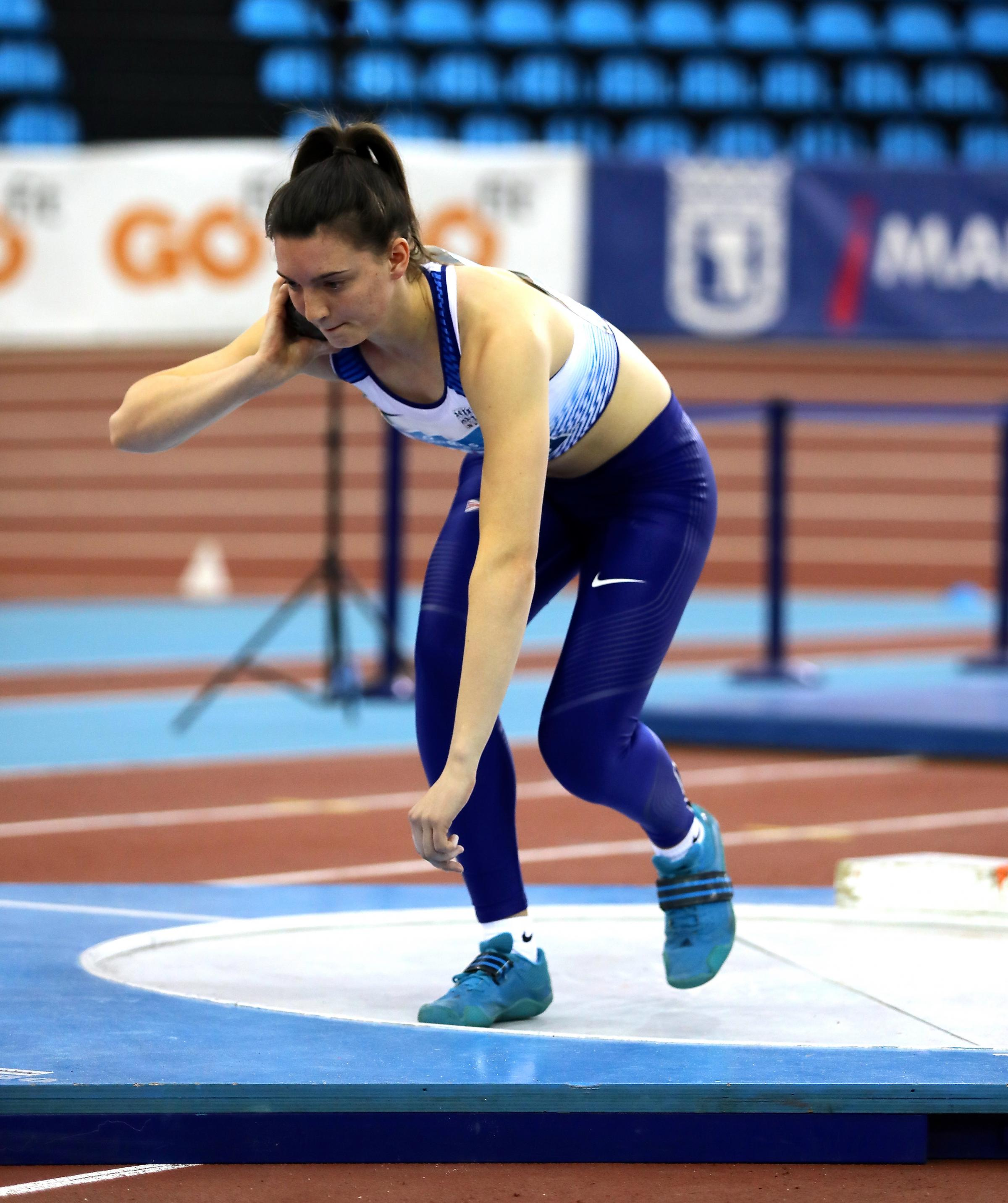 AIMING HIGH: Oxford City AC's Jade O'Dowda, pictured competing for Great Britain in Madrid earlier this year, is bidding to qualify for the IAAF World U20 Championships