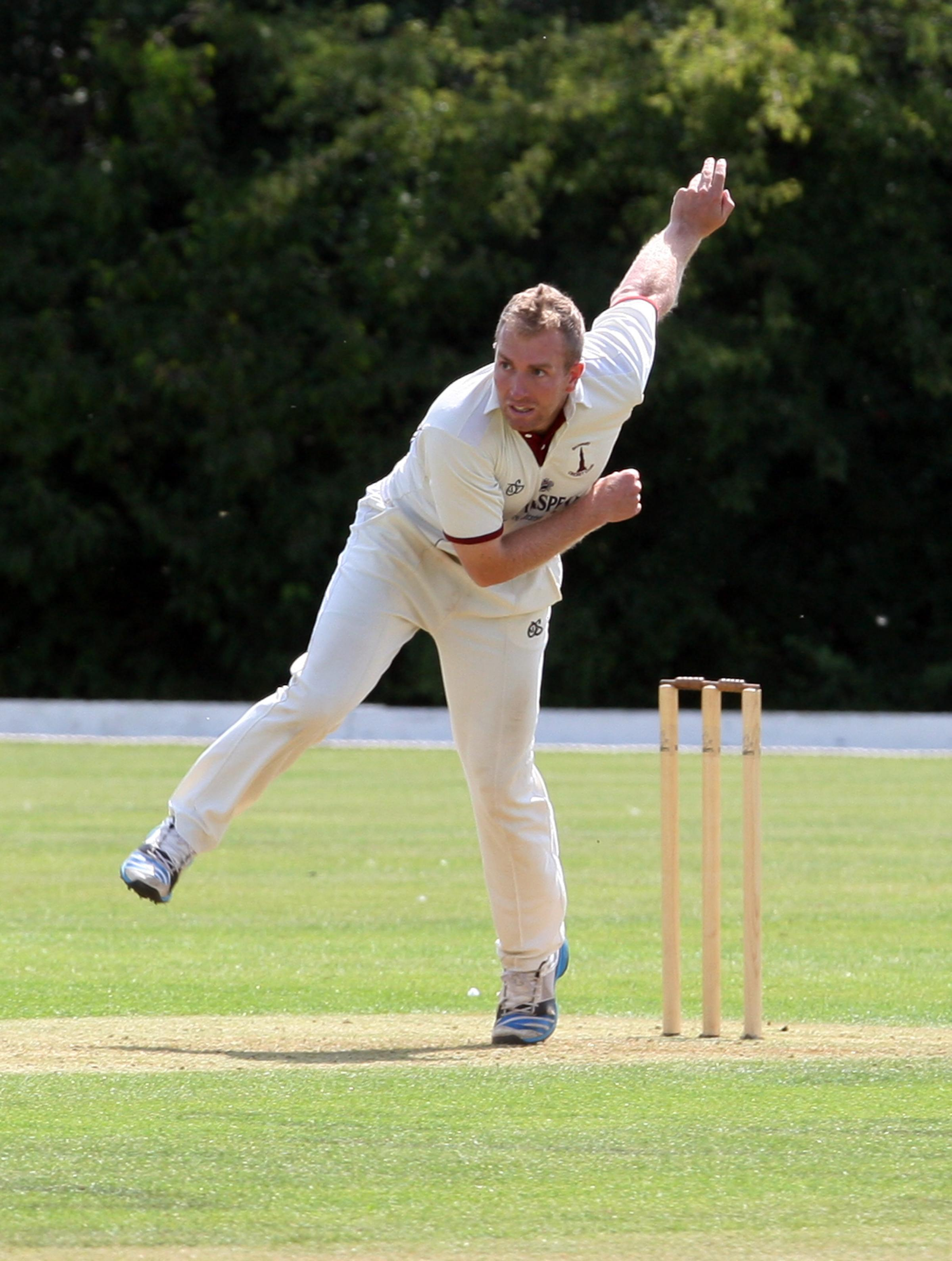 ALL-ROUNDER: Richard West shone with both and ball for Banbury in their victory over Horspath