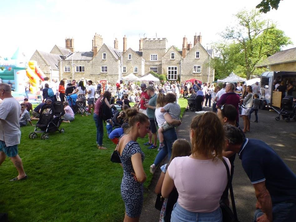 COMMUNITY: Some 3,000 people turned out for Stratton Audley's bi-annual Food and Beer Festival near Bicester