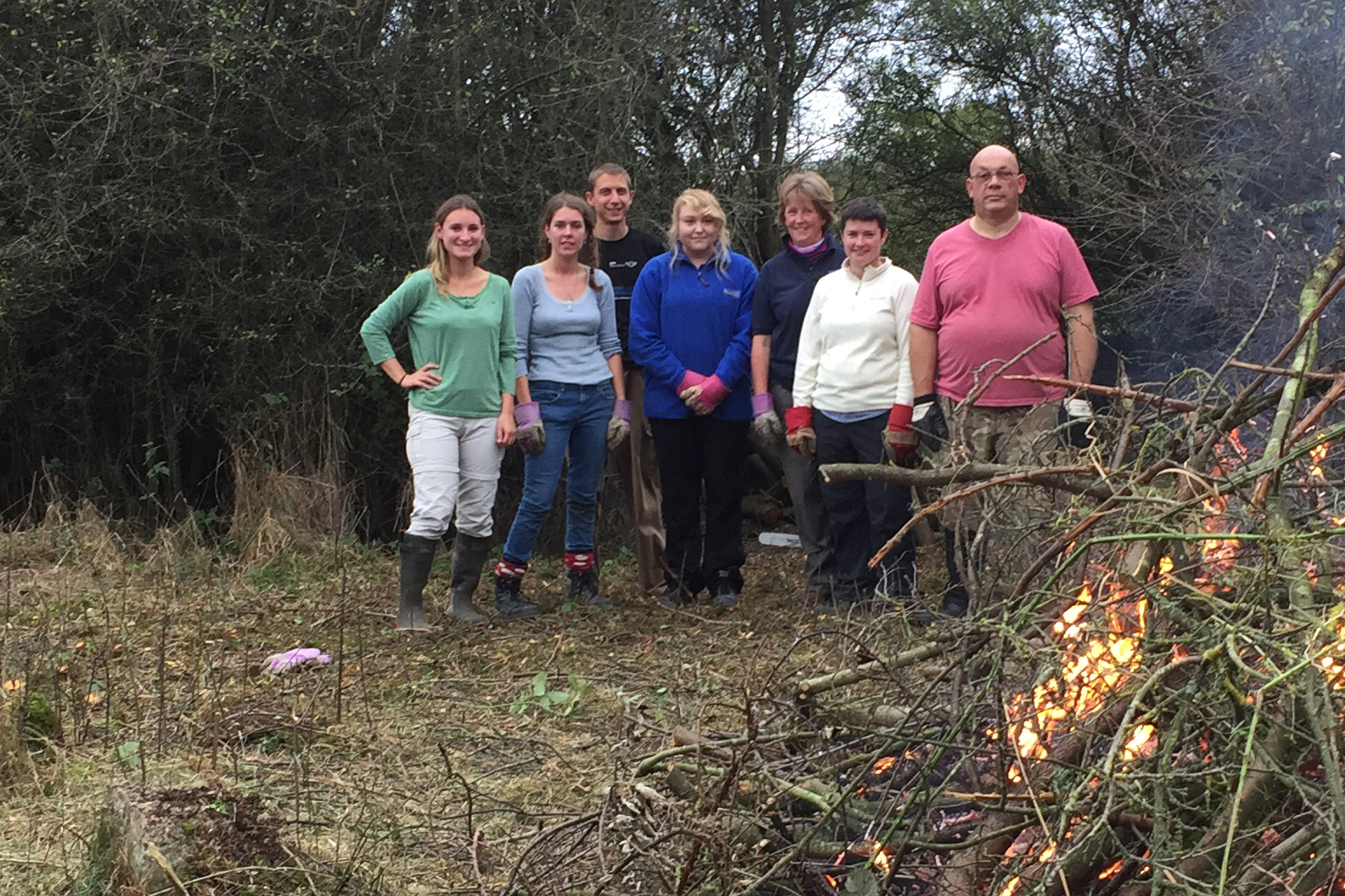 Volunteers help tackle clear-up operation in Bicester's green spaces