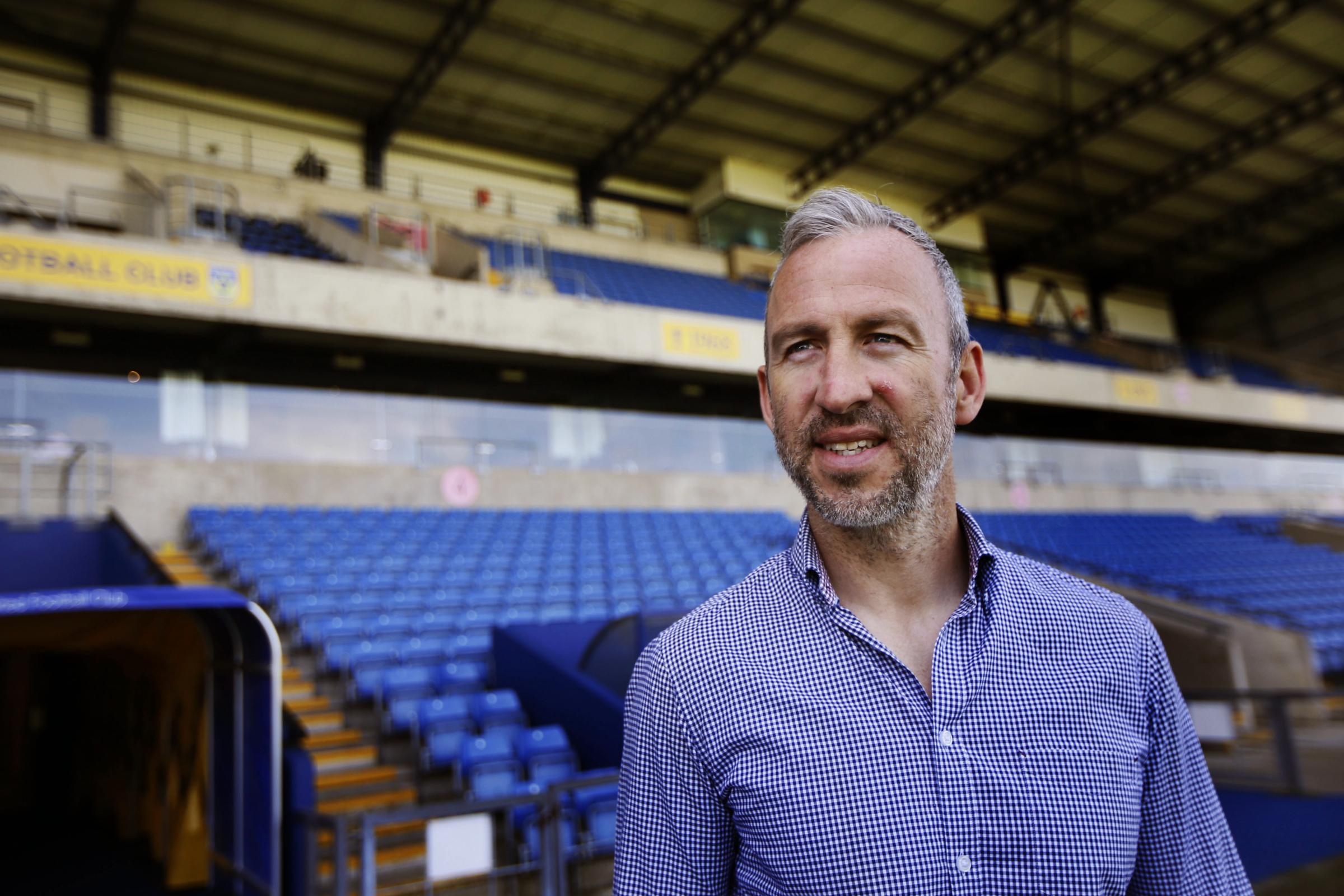 ROUTINE: Shaun Derry is not surprised by the quiet transfer market in League One     Picture: Ed Nix