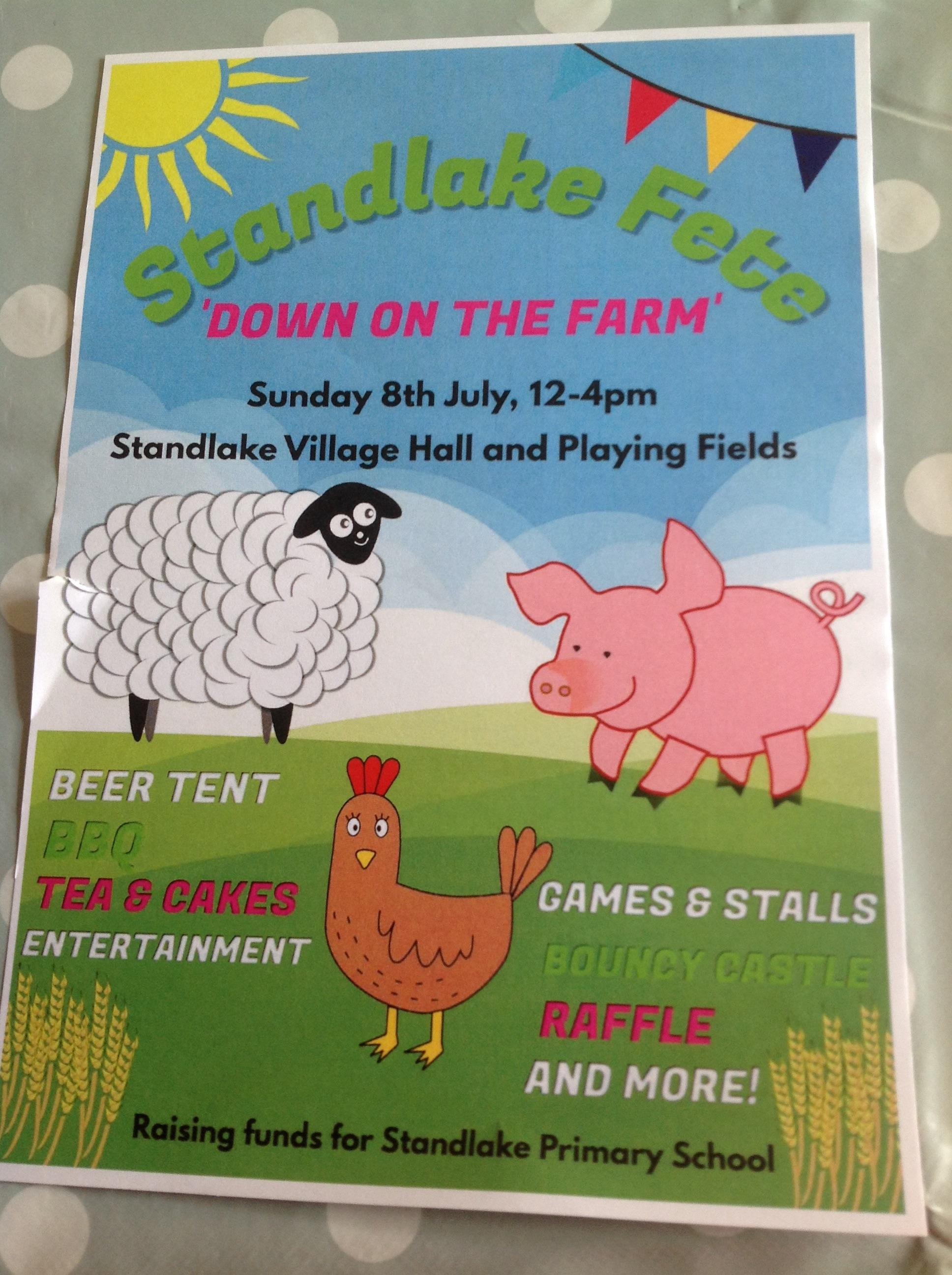 Standlake Village Summer Fete