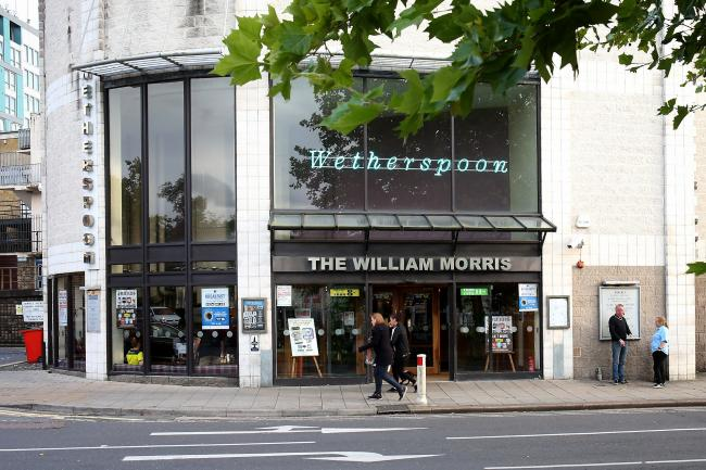 The William Morris in Cowley could soon have an outdoor seating area