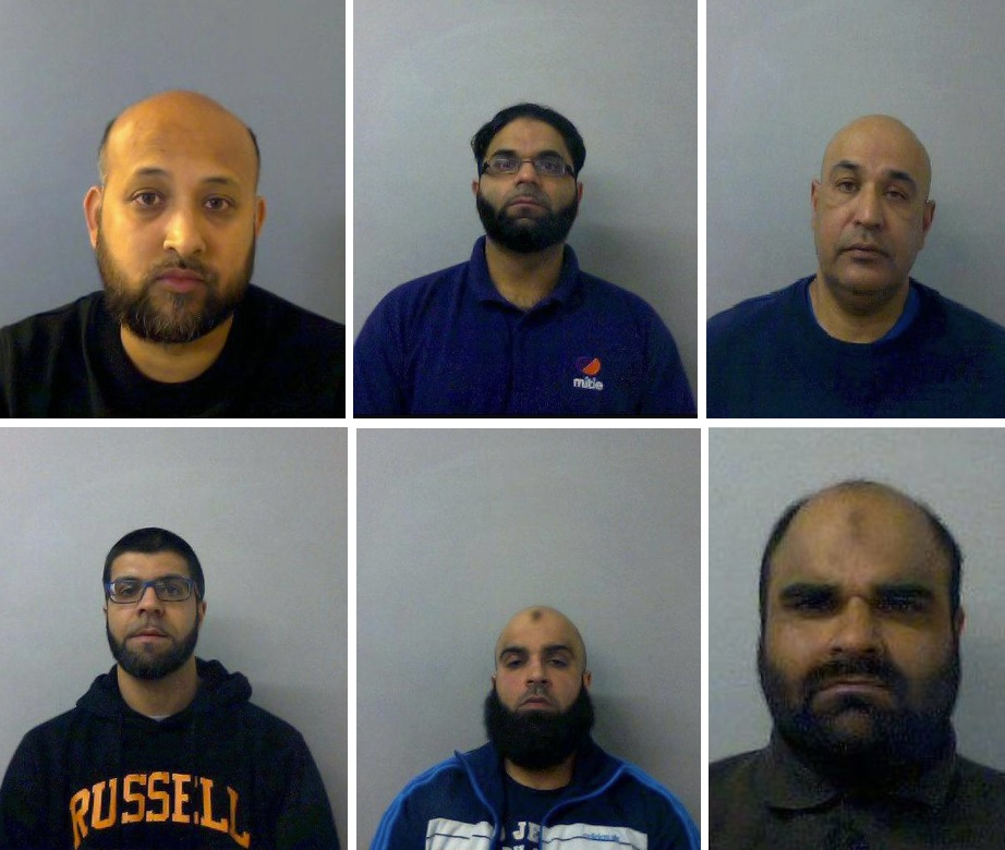 Child sex gang who groomed girls across Oxford jailed