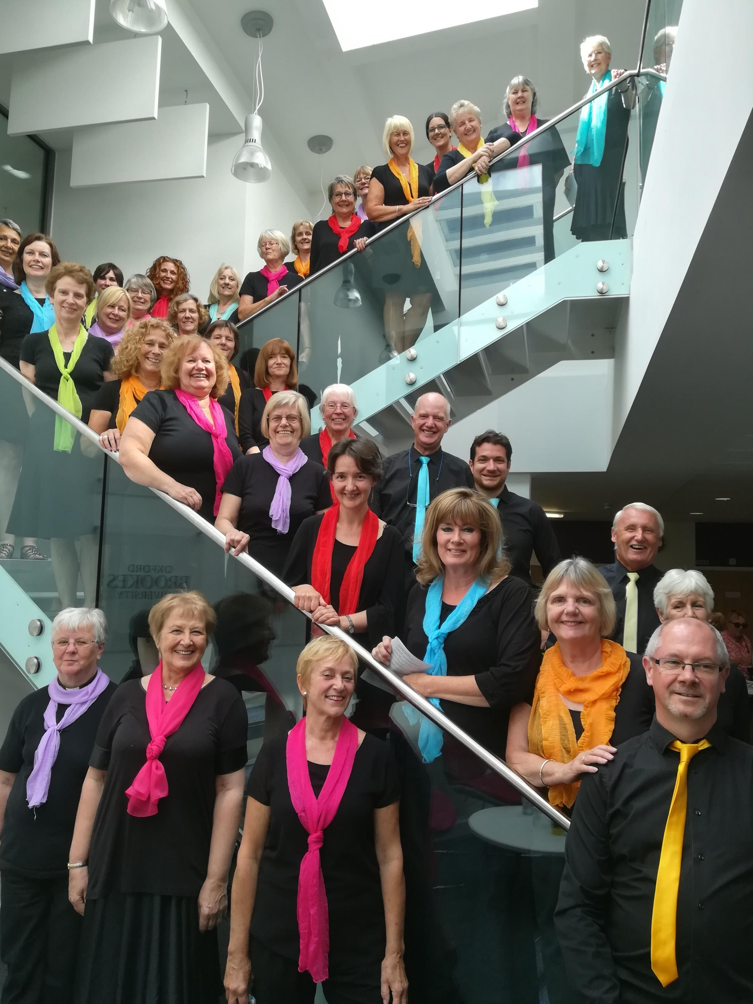 Didcot Community Gospel Choir will mark their tenth season with a concert on June 30 Picture: Chris Belt