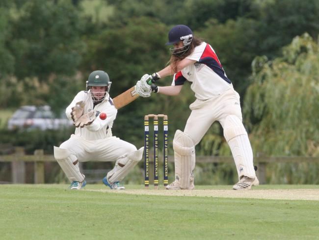 ALL-ROUND STAR: Billy Webb hit 69 and then took 4-38 as Wootton & Boars Hill beat Westcott by 24 runs