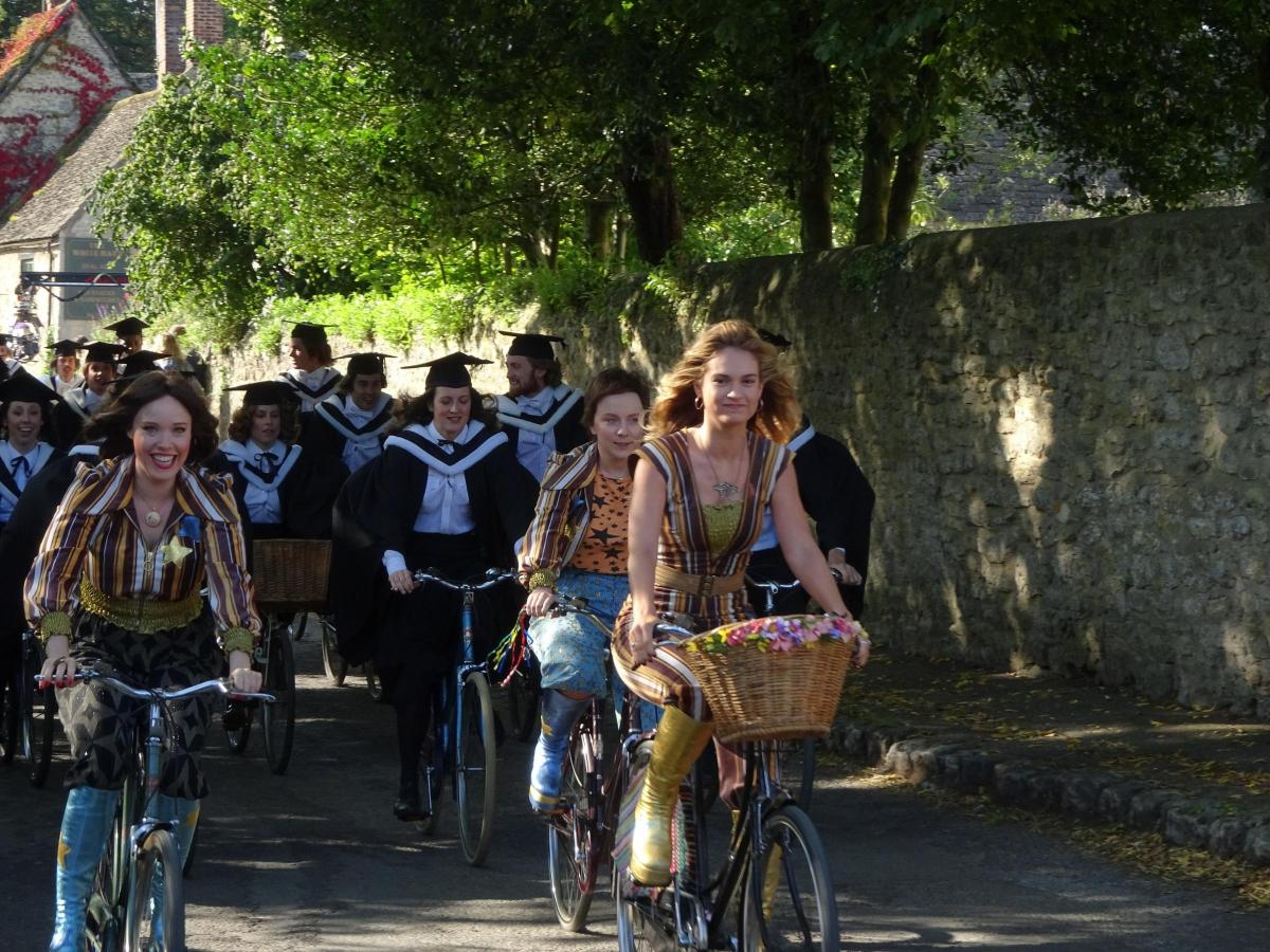 PICTURES: Behind the scenes of Oxford filming for Mamma Mia 2
