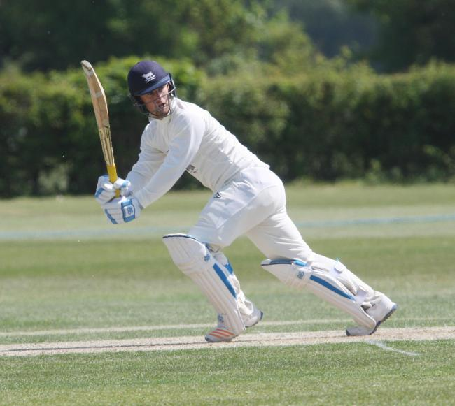 Jonny Cater scored brilliant century for Oxfordshire