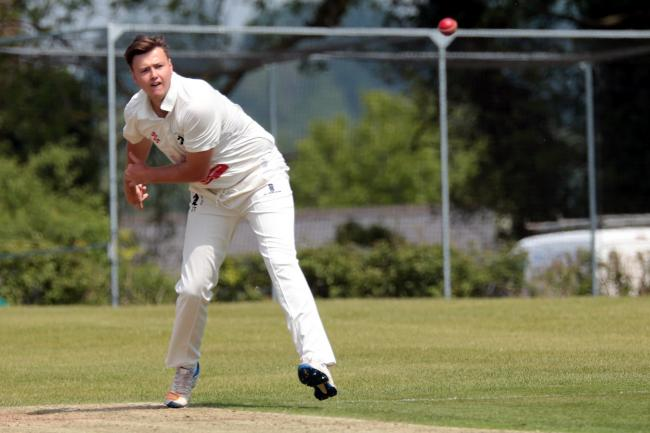 MARATHON SPELL: Joe Thomas took four wickets in 37.5 overs for Oxfordshire against Berkshire Picture: Ric Mellis