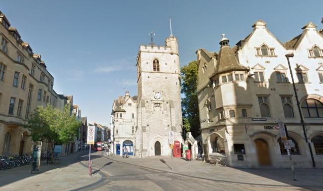 Carfax Tower Assault Teenager Pulled Down By Her Hair Oxford Mail