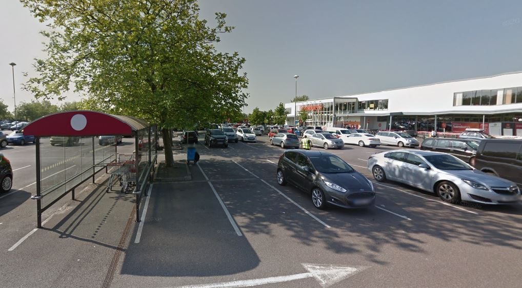 The fire took place at Sainsbury's in Heyford Hill. Picture: Google