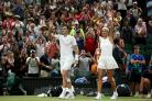 Jamie Murray and Victoria Azarenka enjoyed a dramatic win on Centre Court