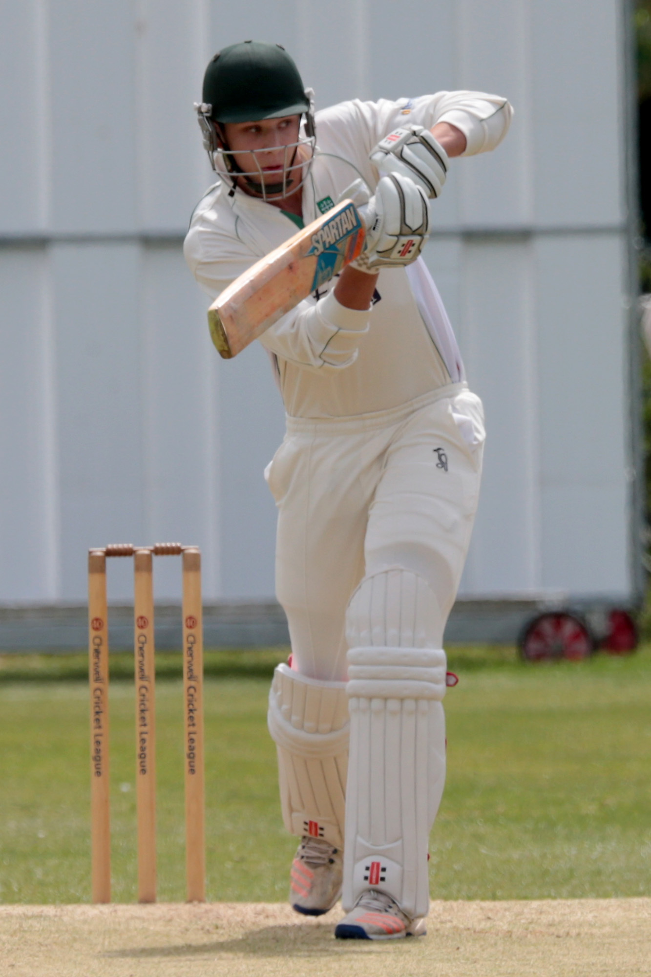 CENTURY-MAKER: Joe Butcher blasted 131 to help Abingdon Vale beat Tiddington