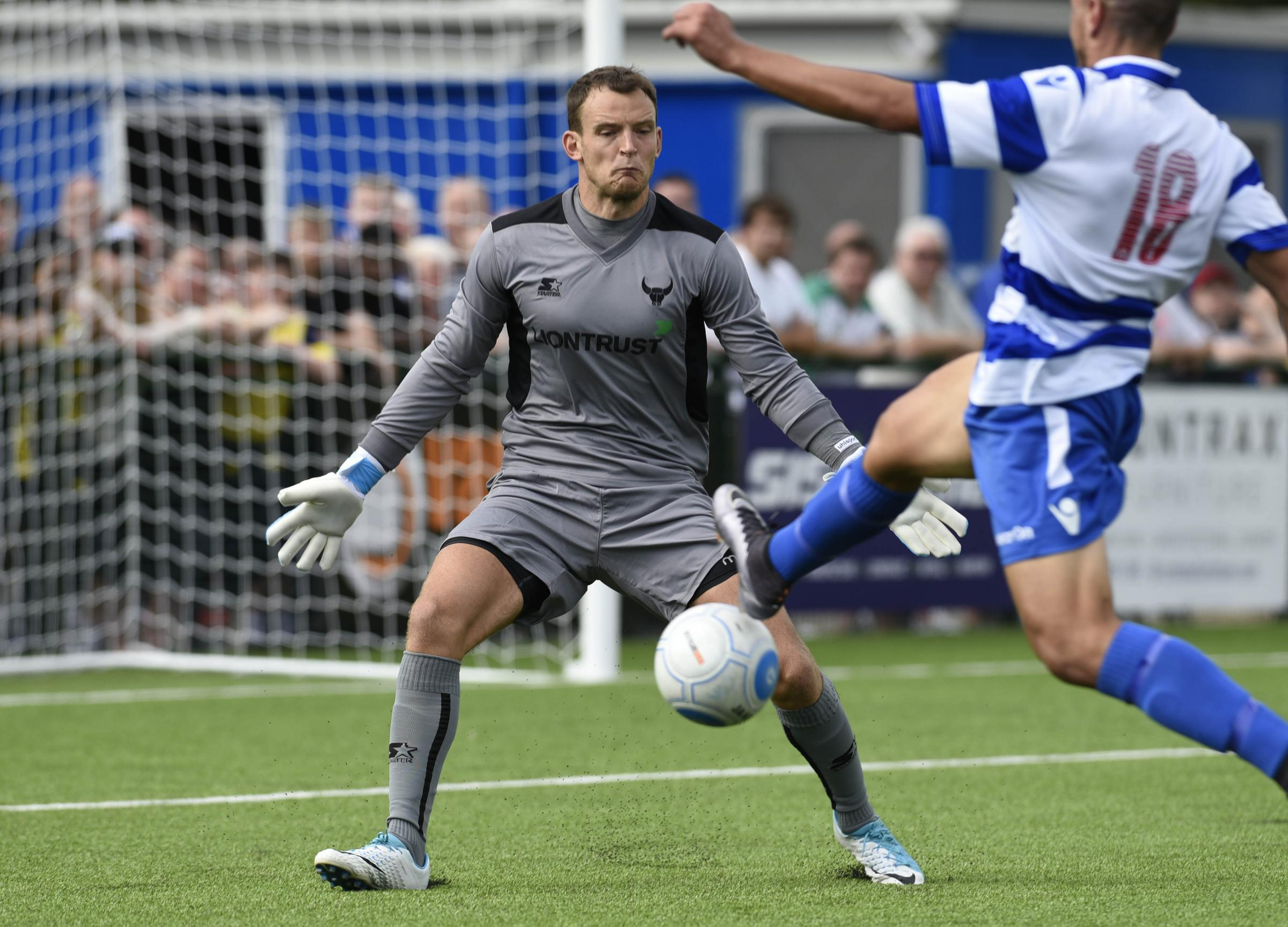 Oxford City V Oxford Utd  Pre-Season Friendly. Keeper, Simon Eastwood  Picture by: David Fleming