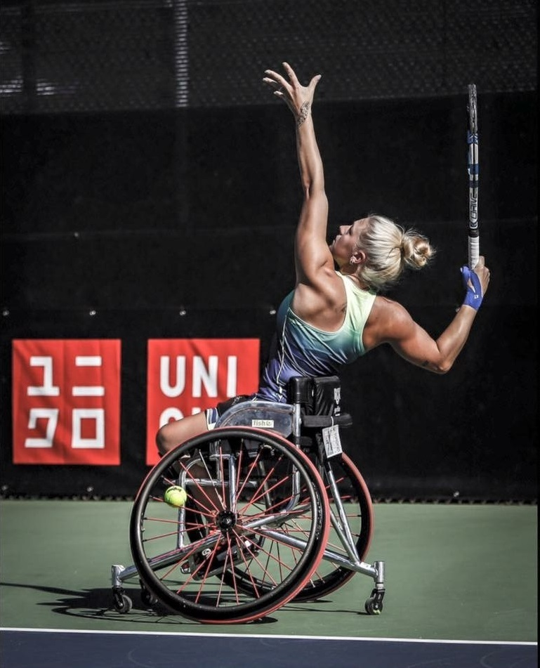 RARING TO GO: Jordanne Whiley will return to training in October