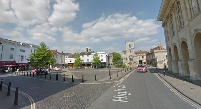 Abingdon market place. Picture: Google Maps