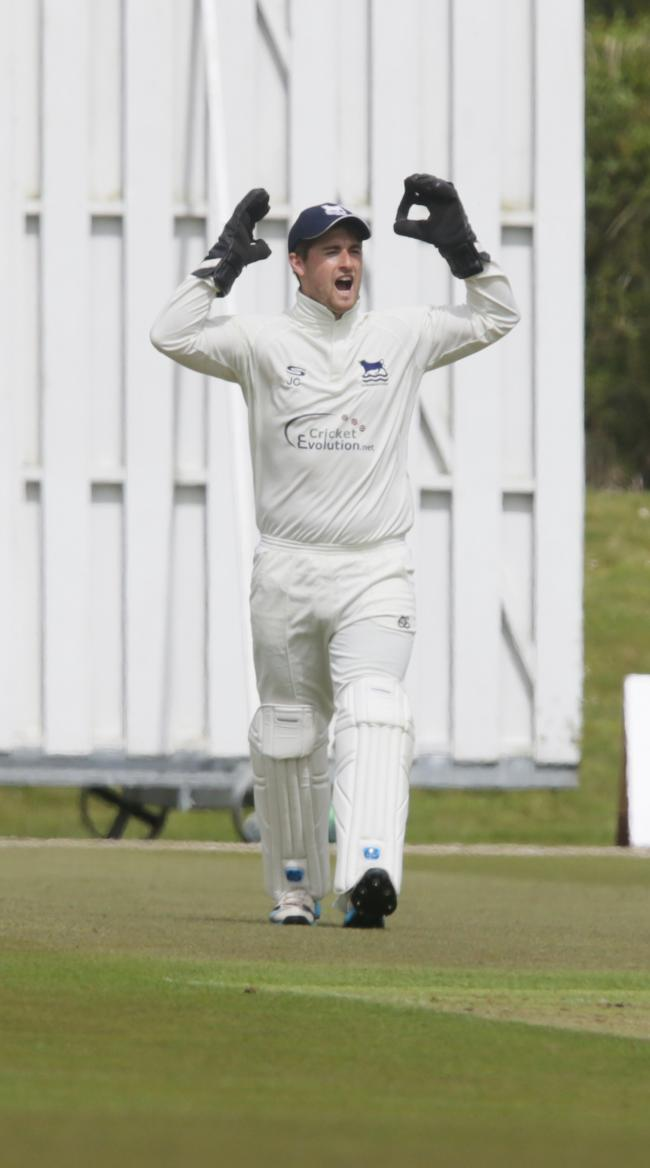 LEADING FROM FRONT: Oxfordshire skipper Jonny Cater hit two half-centuries and claimed nine victims