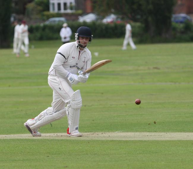 IN THE RUNS: Tom Bartlett's unbeaten 99 helped Banbury 2nd beat Abingdon Vale by seven wickets