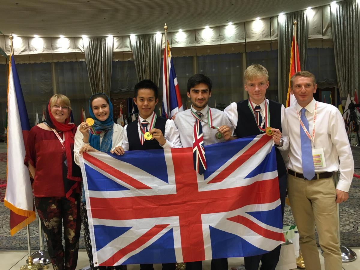 Oxford Teen Wins Gold In Iran At International Biology Olympiad