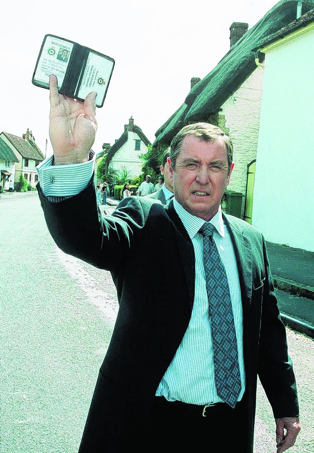 Image result for john nettles midsomer badge