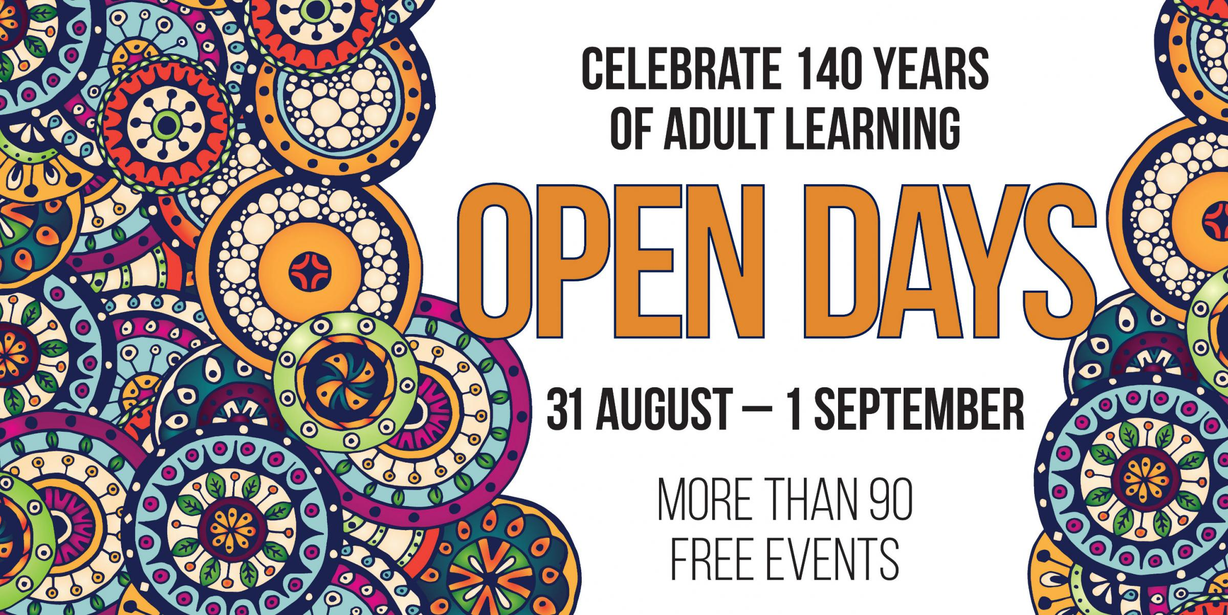 Continuing Education Open Day 2018