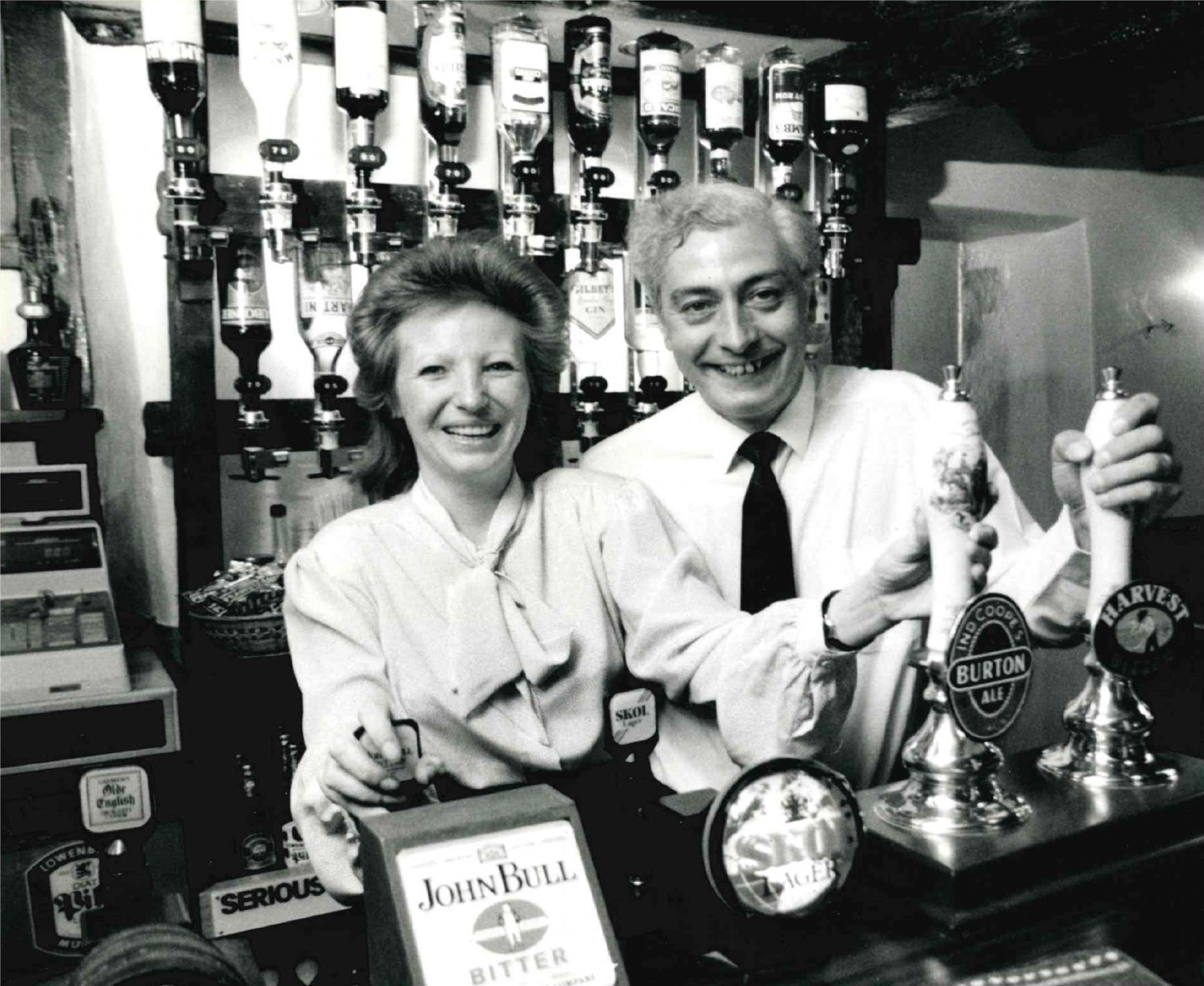 REMEMBER WHEN: Tony and Sandra Savage of The Fox in Boars Hill