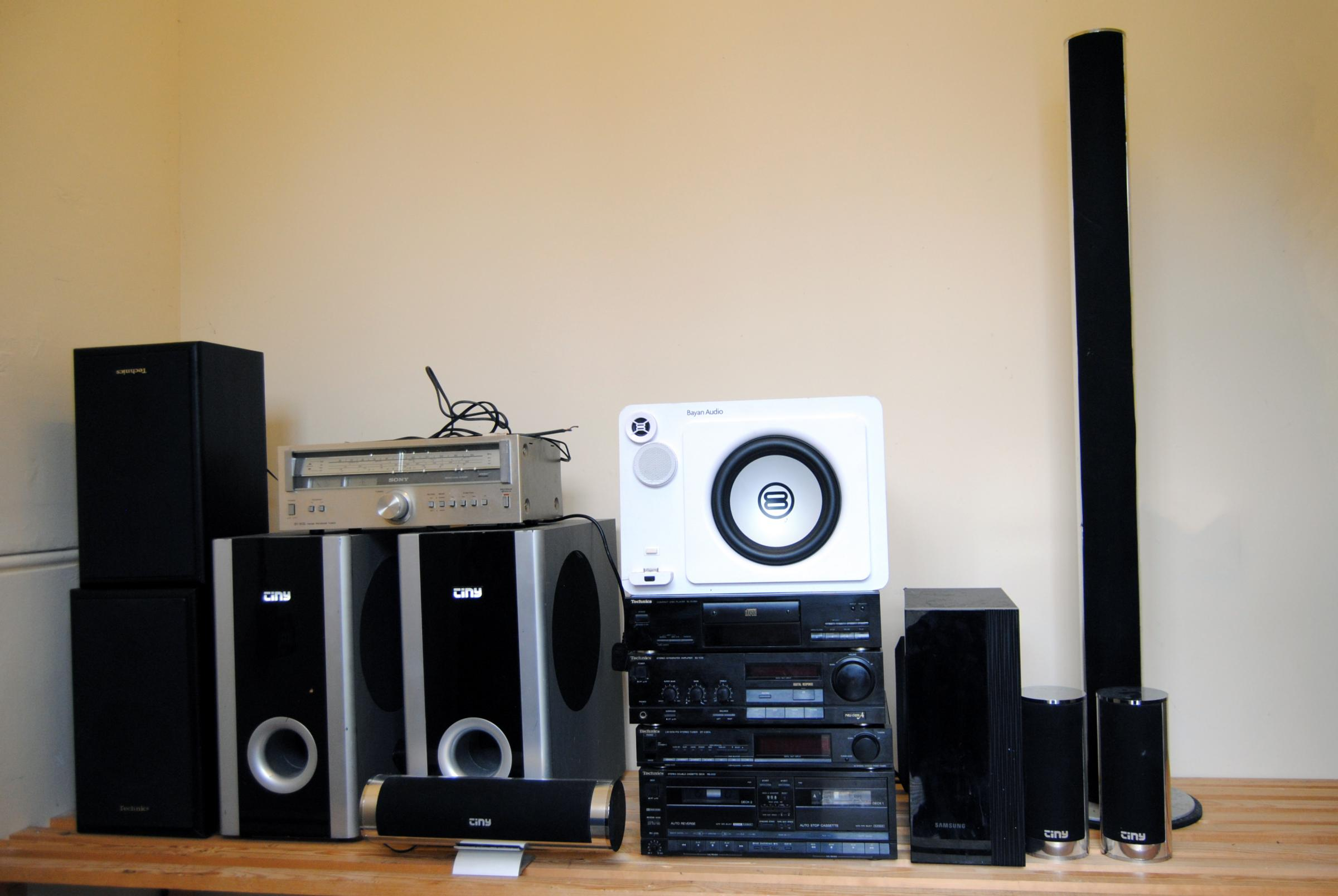 The seized stereo equipment   Picture: Cherwell District Council