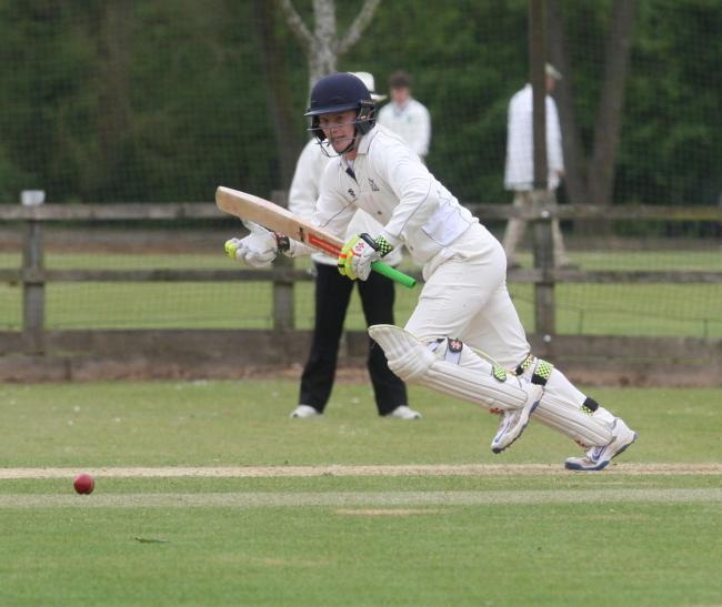 George Reid top-scored for Aston Rowant in their victory over Horspath