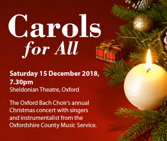 Oxford Bach Choir: Carols for All