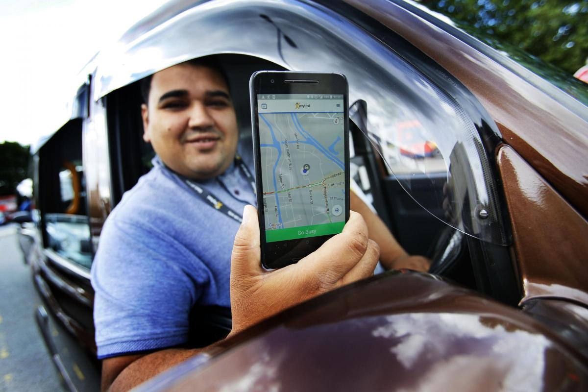 Black cab hailing app mytaxi launches in Oxford | Oxford Mail