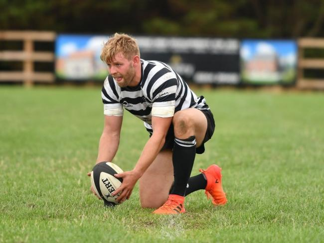 SIDELINED: Chinnor fly-half Caolan Ryan misses their trip to Cambridge tomorrow                                                                             Picture: Simon Cooper